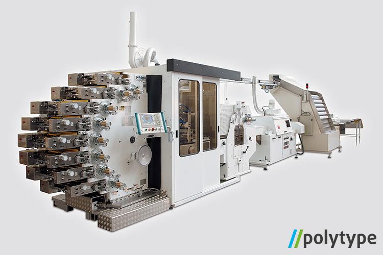 Polytype dry-offset printing machine - model BDM301