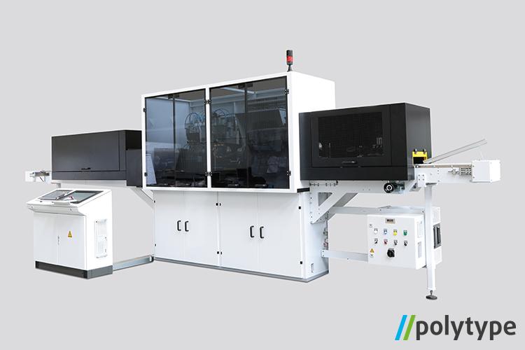 Polytype digital lid printing machine - model DigiLid
